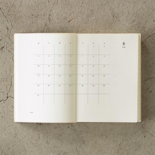 (2020 날짜형) 2020 MD노트 다이어리 하루 한 페이지 (L)
