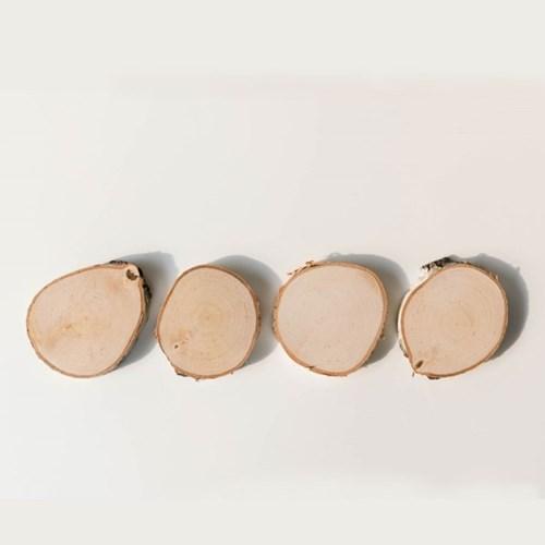 자작나무 우드 코스터 / 캔들 컵 화분 받침