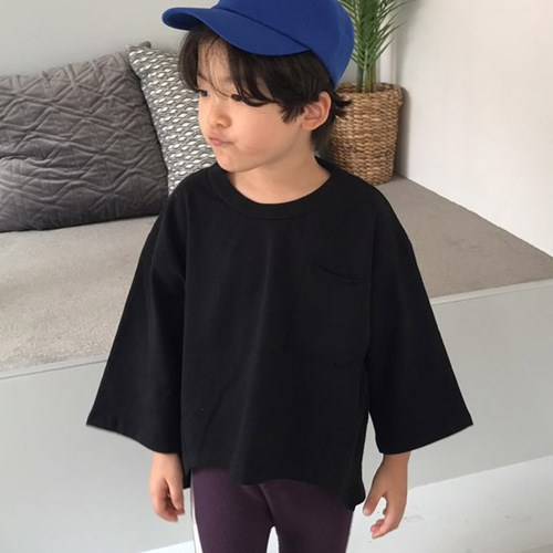 소) 언발워싱 아동 티셔츠