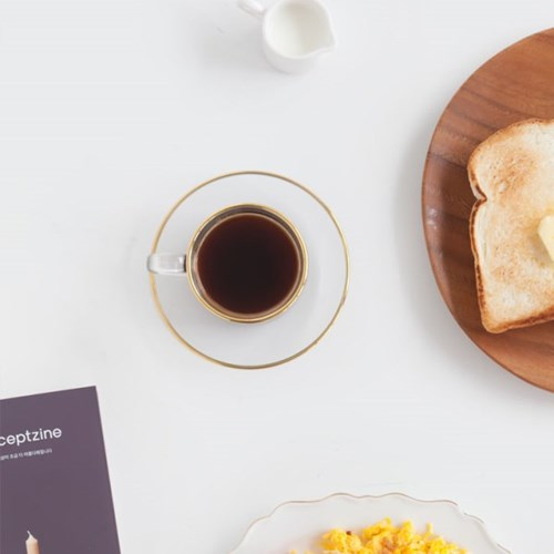 니코트 gold crystal 커피잔세트