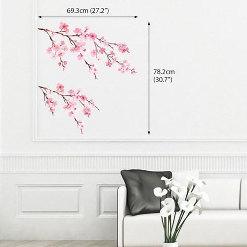 수채화 벚꽃 DWL-1903