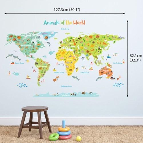 애니멀 세계지도 DL-1815