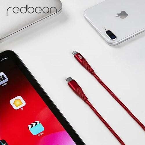 레드빈 USB C to 라이트닝 아이폰 MFi 고속충전케이블_(1371727)