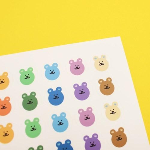 [한톨상점]귀하트 반곰이 스티커