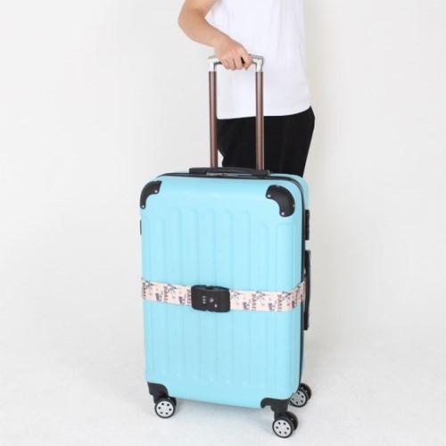[TCUBE] TSA 3다이얼 여행가방 터짐방지 가방보호벨트 - 파리