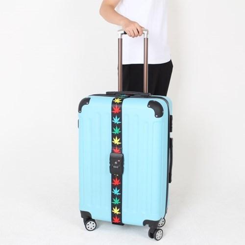 [TCUBE] TSA 3다이얼 여행가방 터짐방지 가방보호벨트 - 메이플