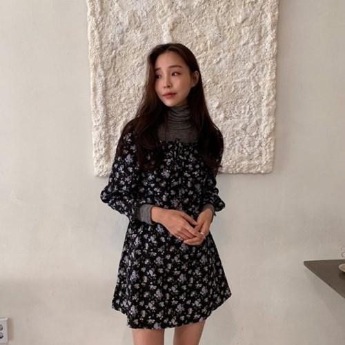 버딘플라워 dress (2color)