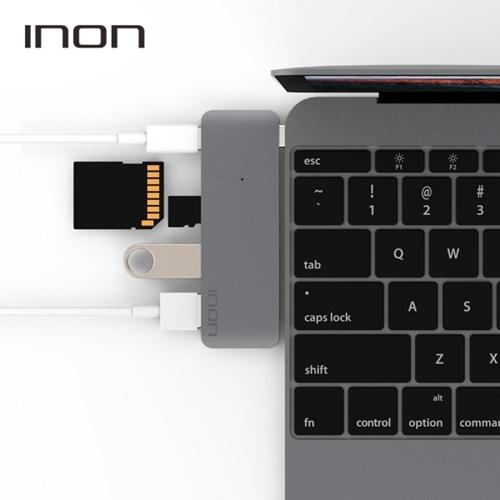 아이논 USB 3.0 C타입 5in1 멀티허브 맥북