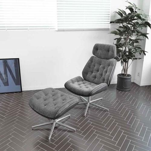 디센 림스코지 패브릭 1인용 쇼파 안락 의자 스툴 세트_(10946236)