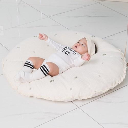 [피그먼트 러그] 바이오워싱 아기 놀이 쿠션 베이비 매트