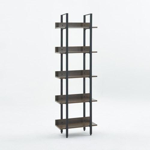 [데코마인] 오브리 5단 스틸책장 600/800 선반 원목책장 책꽂이