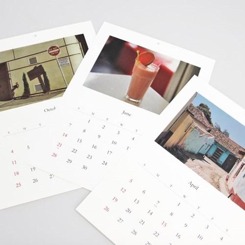 2020 Calendar_The joy of travel