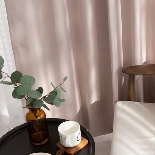 [100%암막커튼]브리에_핑크