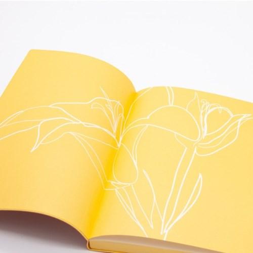 플로랄 스케치북 (A5, Lily)