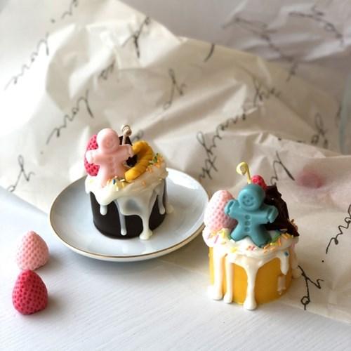 [텐텐클래스] (동작) 귀여운 진저맨 디저트캔들 만들기