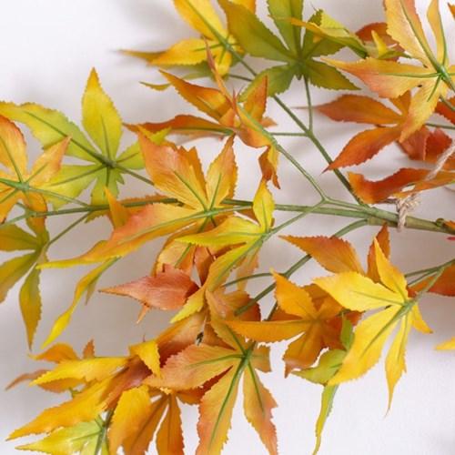가을 단풍 가랜드 인테리어 조화 실크플라워 벽장식 갈_(1438845)