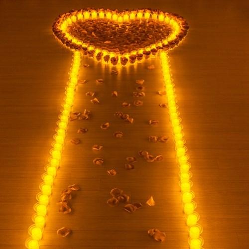 프로포즈 이벤트 용품 LED티라이트 촛불