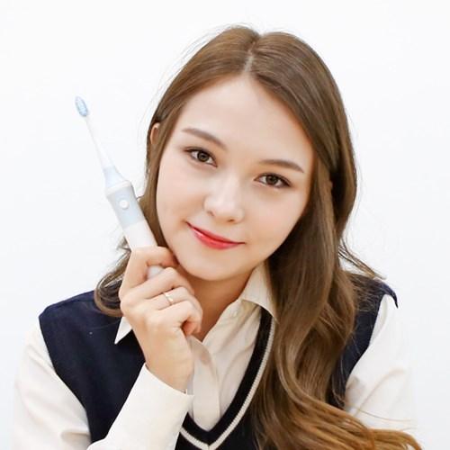 초미세모 물결 칫솔헤드 생활방수 휴대용 전동칫솔_(1104325)
