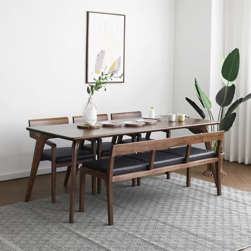 [웨일] 6인용식탁/테이블 세트_(1405052)