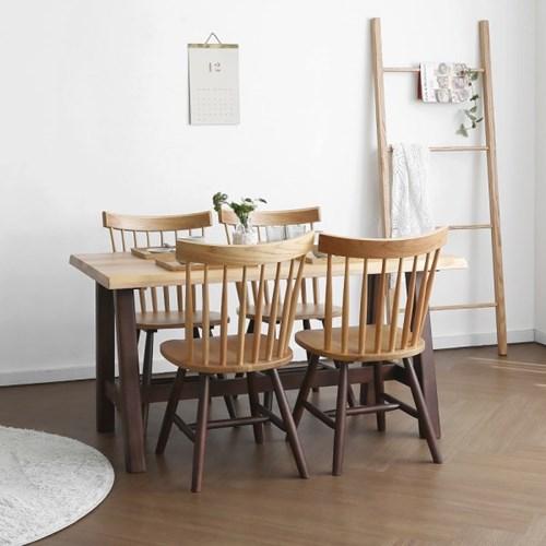 [오크] M1형 식탁/테이블 세트 투톤컬러_(1405050)