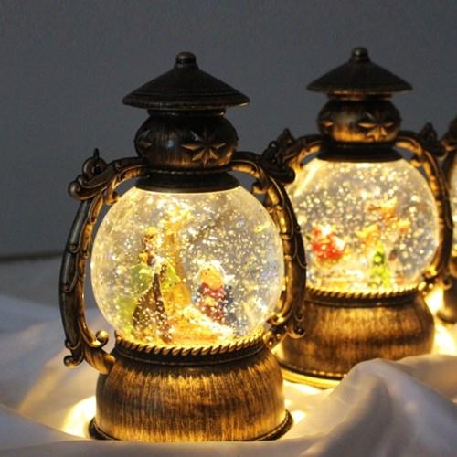 [반짝조명] LED 램프 스노우볼 무드등 조명_(1359997)