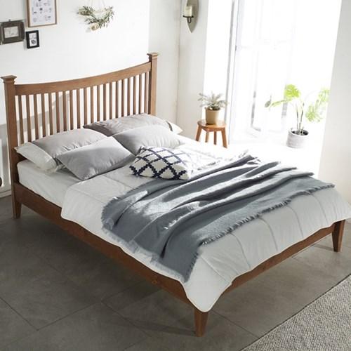 필우드가구 도브 원목 퀸 침대
