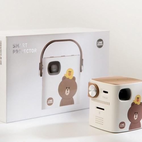 젤리빔 라인프렌즈 초미니 스마트 프로젝터 (JB-100)