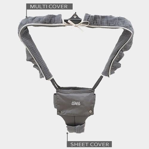 [피그먼트 시트커버] 졸리점퍼용 시트보호커버 피부 보호 쿠션