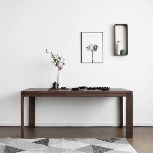 [헤리티지월넛] Q형 식탁/테이블_(1414527)