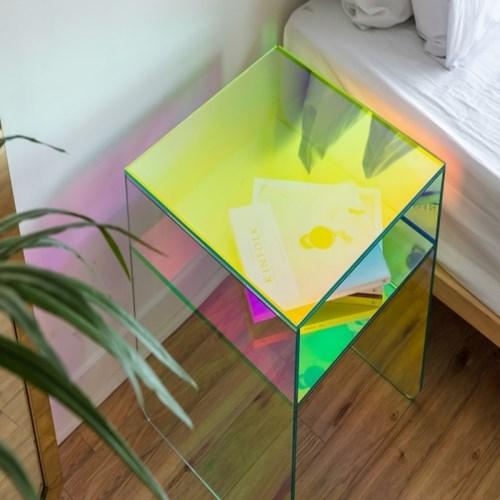 홀로그램 슈리 사이드테이블