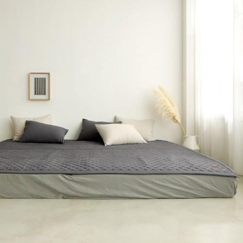 소프트터치 먼지없는 패밀리 침대패드 Q+Q