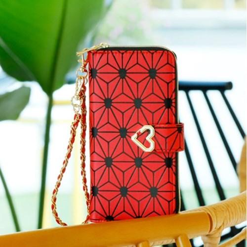 갤럭시노트5 (N920) Estrella-H 지퍼 지갑 다이어리 케이스