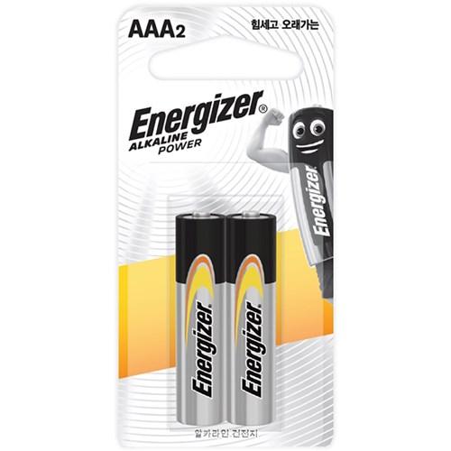 에너자이저 알카라인 건전지 AA AAA 2입 20개 40알 (무료배송)