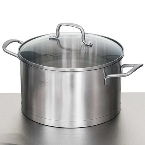 리빙아트 에센셜 IH인덕션 양수냄비18cm_(2712817)