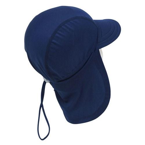 앨리빌리 네이비 플랩캡(수영모자 UV차단)