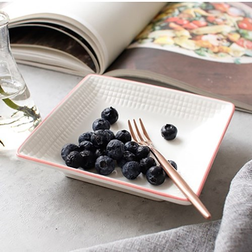 meresine 마인드터치 정사각 접시(소) - 4color