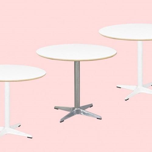 맥-원형 2인,4인 테이블(3종사이즈)