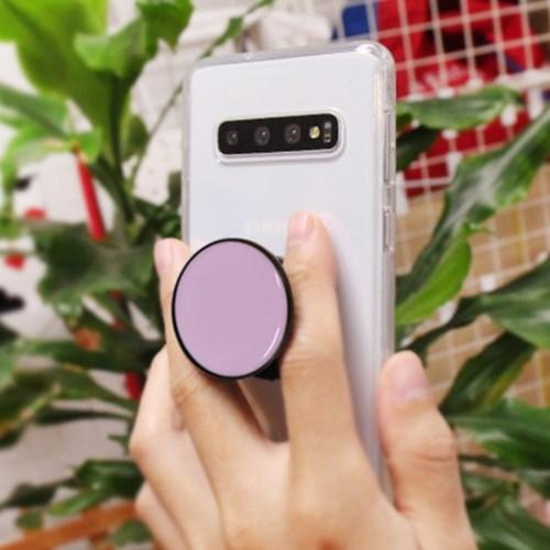아이폰8 NuDobleTok 그립톡 풀커버 젤리 케이스_(2417921)