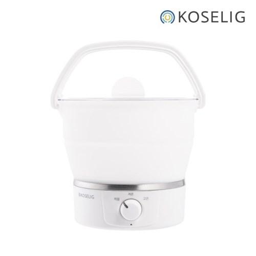 [코슬리] 코슬리 여행용 휴대용 냄비 전기포트 크럼플팟 SN-3616W