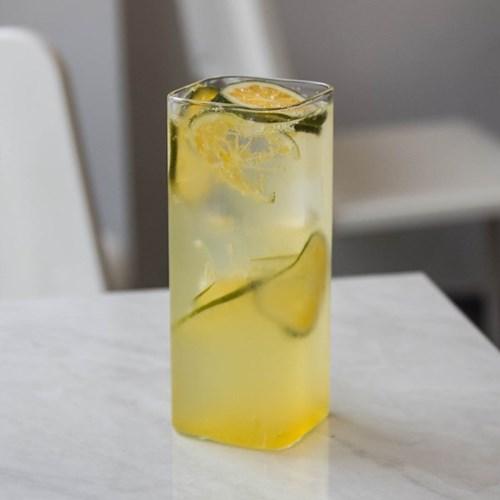 Ligero 내열 Square Glass Cup 440ml (3p 6p)
