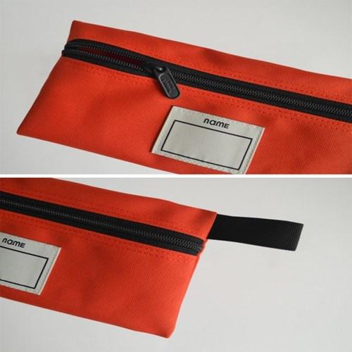 PENCIL CASE (RED ORANGE)