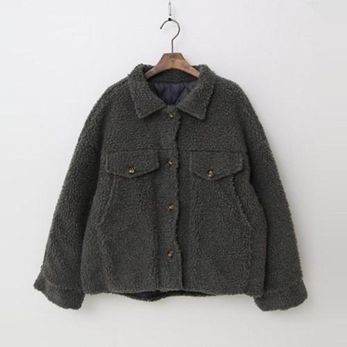 Teddy Bear Trucker Jacket - 누빔안감