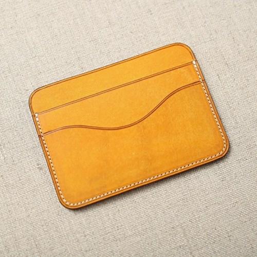 심플&슬림 가죽 카드지갑 (slim cardcase 3pocket)