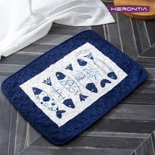 헤론티아 퀼팅 발매트 HT7T3I001 / 주방매트 욕실매트 현관매트