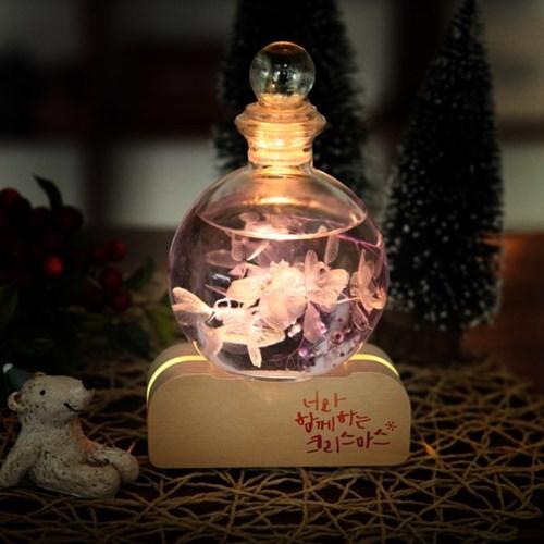 크리스마스 하바리움 디퓨저 무드등 선물세트 250ml_(1490914)