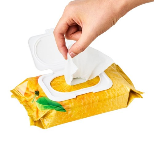 프레쉬푸드 포 스킨 클렌징 티슈 오렌지 (일반피부용)