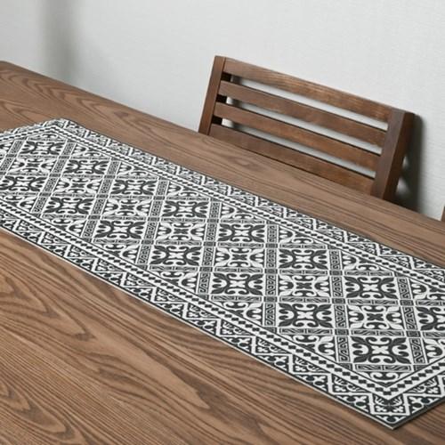 플로르 패턴 디자인 방수 테이블러너 매트 10종1택 S