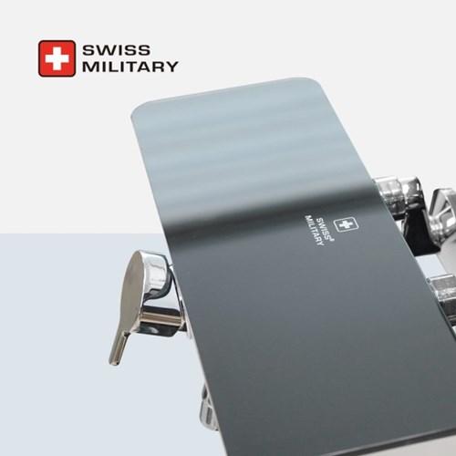 스위스밀리터리 강화 선반형 샤워 욕조 수전 (샤워헤드 거치 개별형)