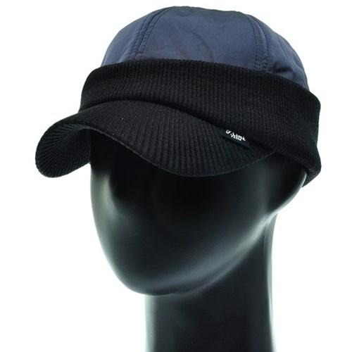 [플릭앤플록]RCO09.니트챙 귀마개 패딩 골프 방한 캡모자