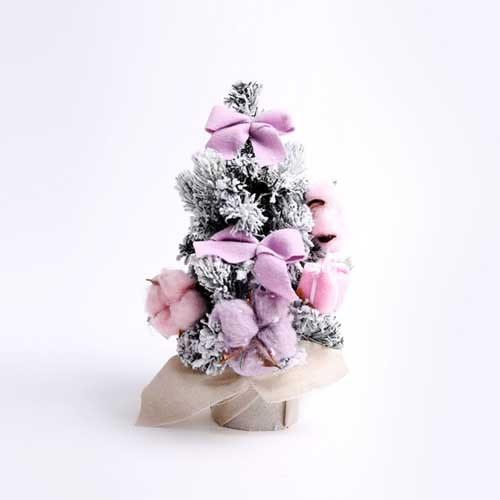 유러피안 코튼 미니트리 (30CM) 핑크